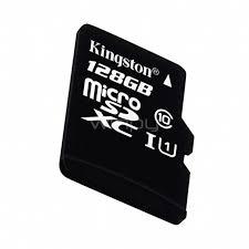 MICRO SD KINGSTON 128GB CLASE 10