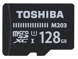 MICRO SD TOSHIBA 128GB CLASE 10