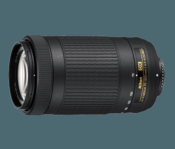 NIKON AF-P DX 70-300MM F4.5 6.3G SIN VR